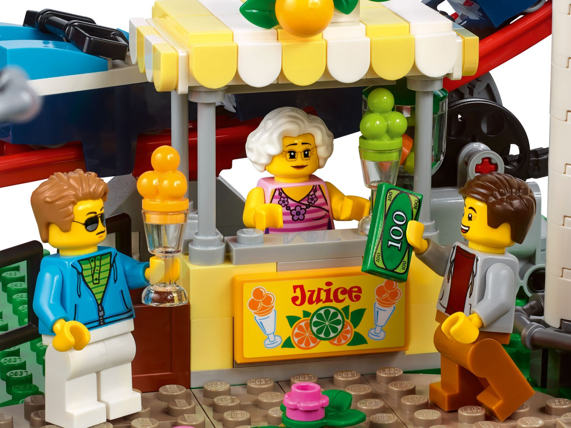 LEGO® Creator Expert Achterbahn (10261) - Bild 06 | ©LEGO Gruppe