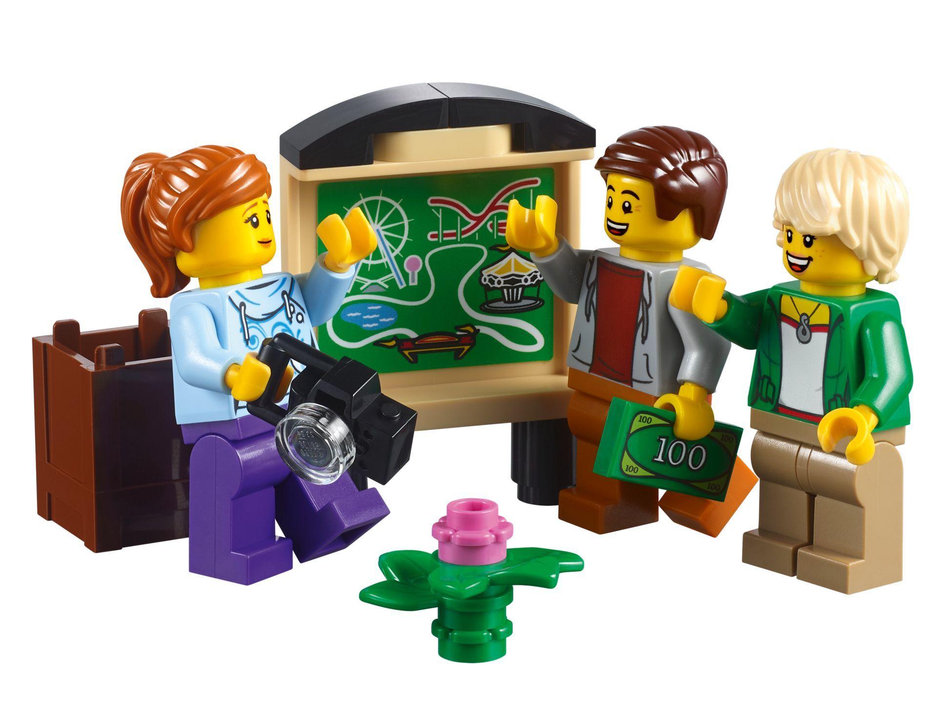 LEGO® Creator Expert Achterbahn (10261) - Bild 07 | ©LEGO Gruppe