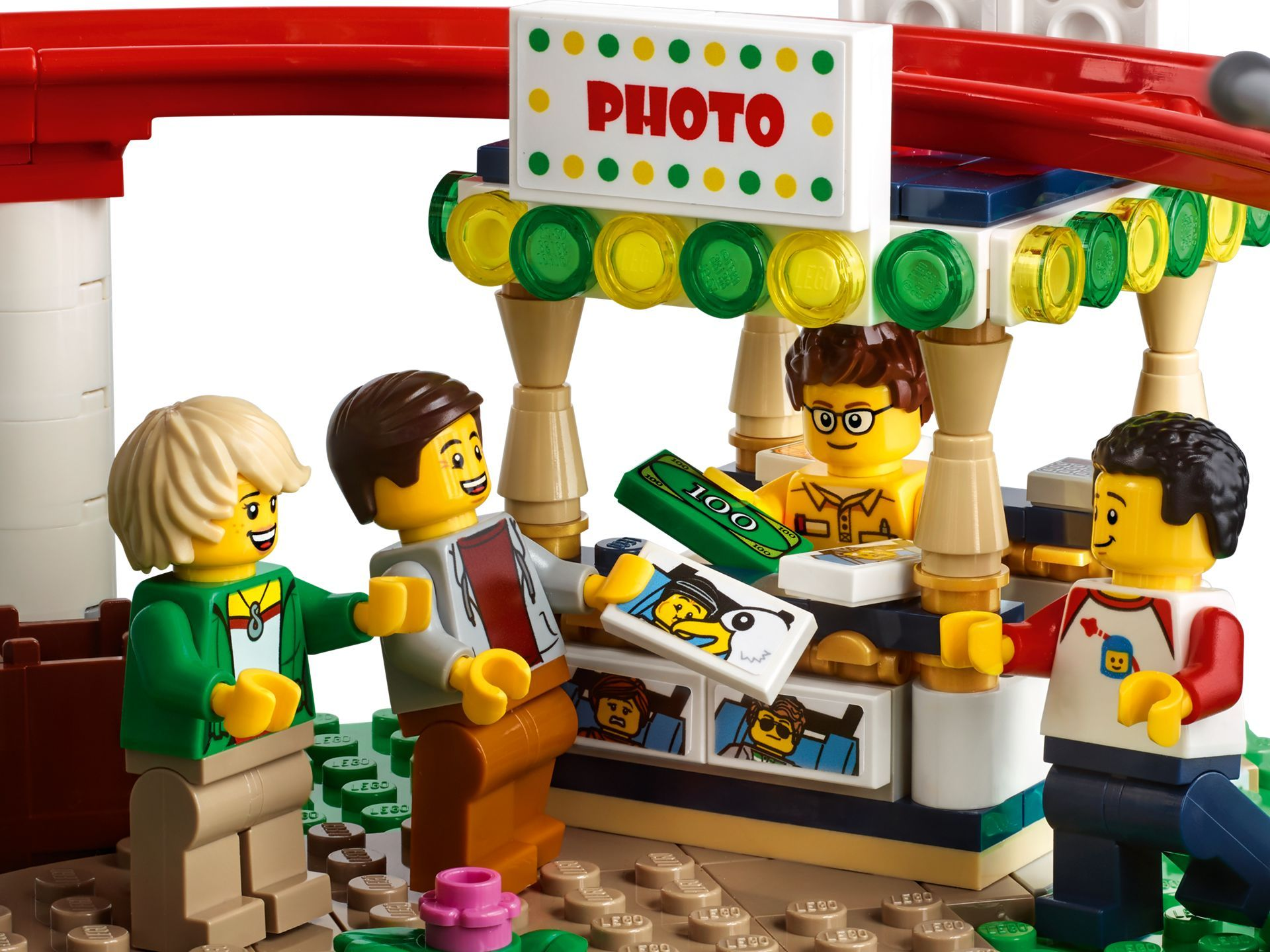 LEGO® Creator Expert Achterbahn (10261) - Bild 09 | ©LEGO Gruppe