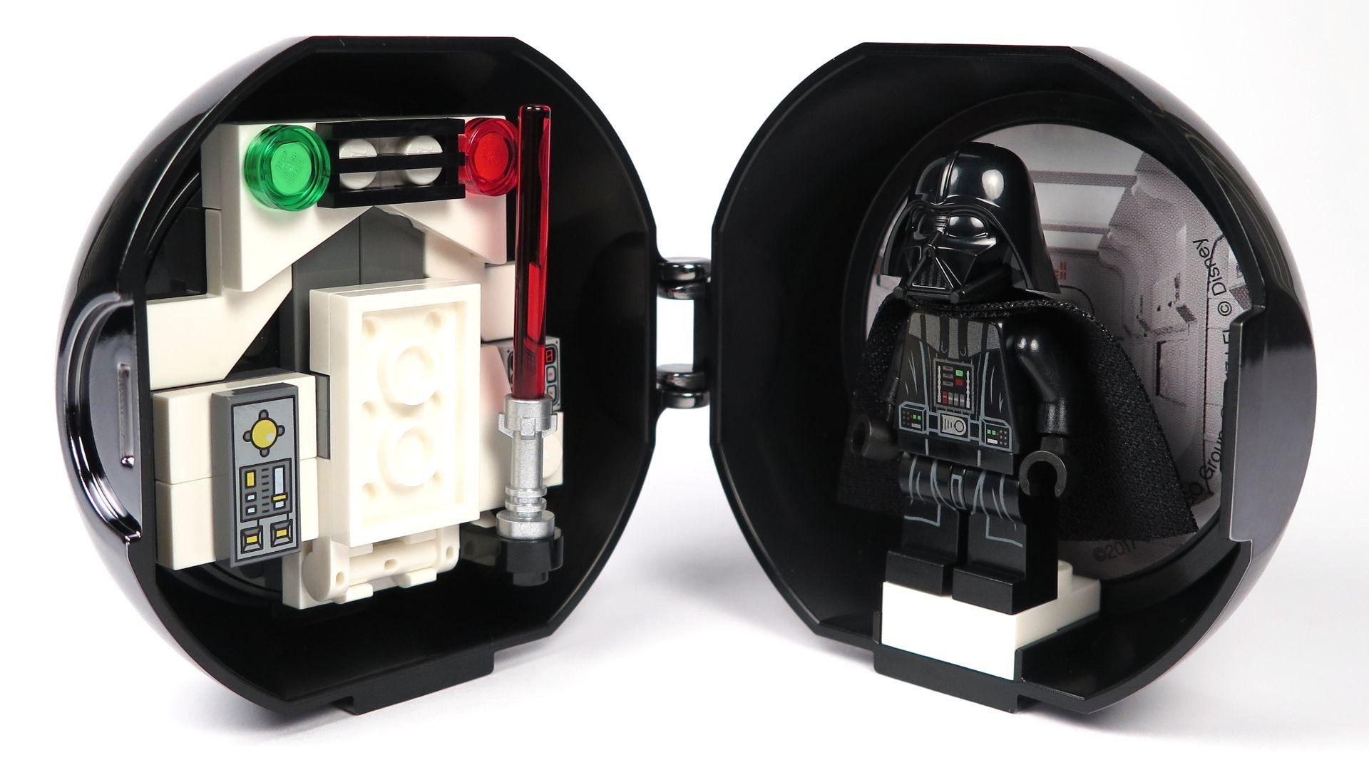 LEGO® Star Wars™ Darth Vader Pod (5005376) - offen Innenseite | ©2018 Brickzeit