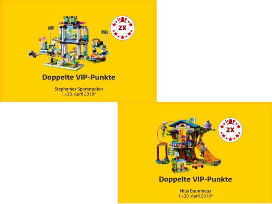 LEGO Friends doppelte VIP Punkte auf 41338 und 41335