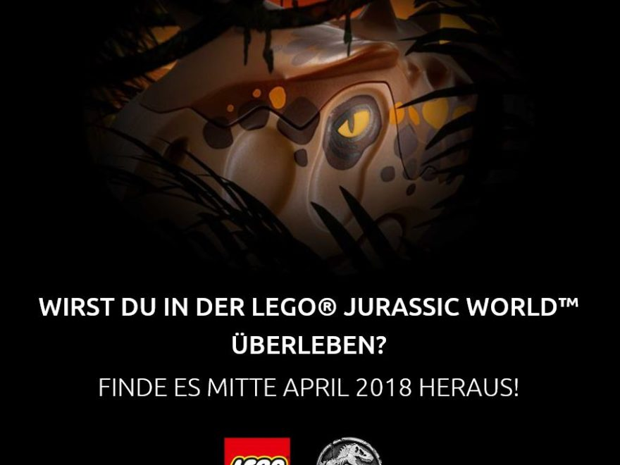 LEGO® Jurassic World Ankündigung für Mitte April 2018 | ©LEGO Group