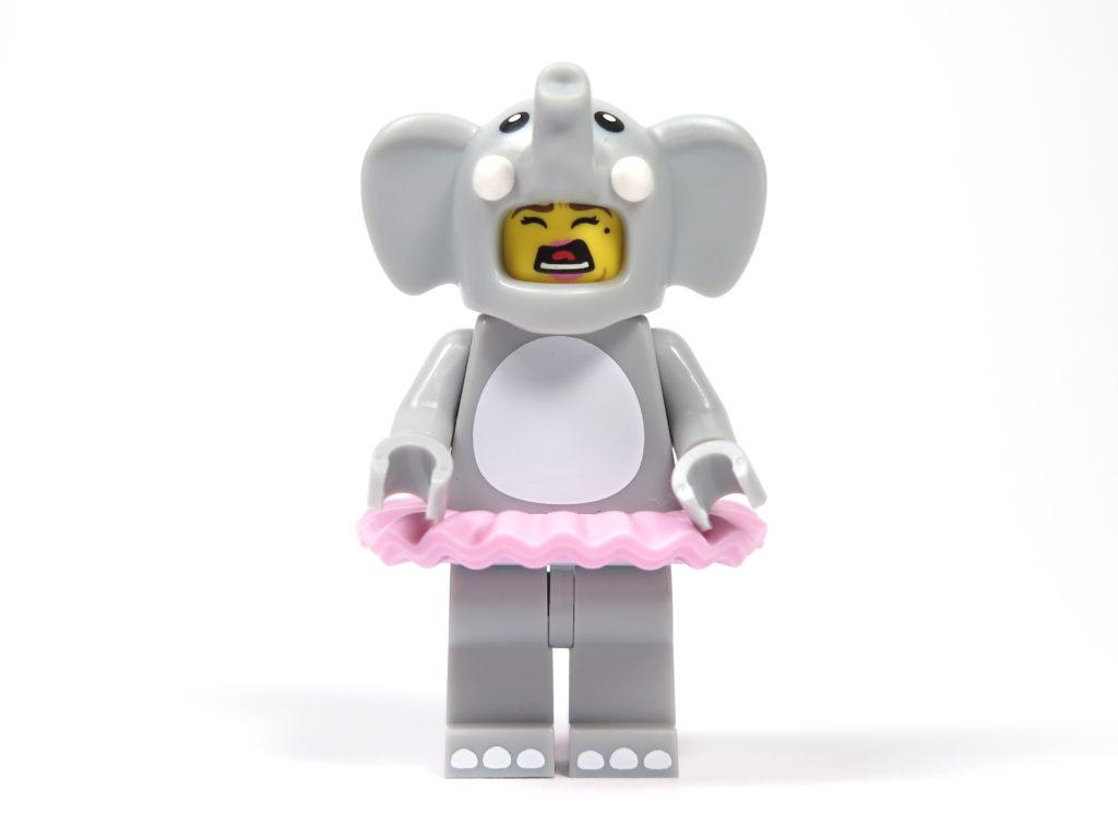 LEGO® Minifiguren Serie 18 (71021) - Elefantenmädchen schreiendes Gesicht | ©2018 Brickzeit