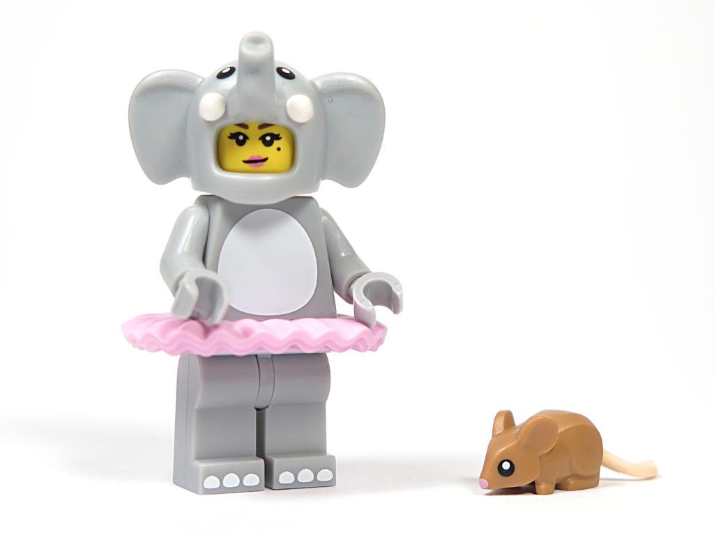 LEGO® Minifiguren Serie 18 (71021) - Elefantenmädchen und Maus | ©2018 Brickzeit