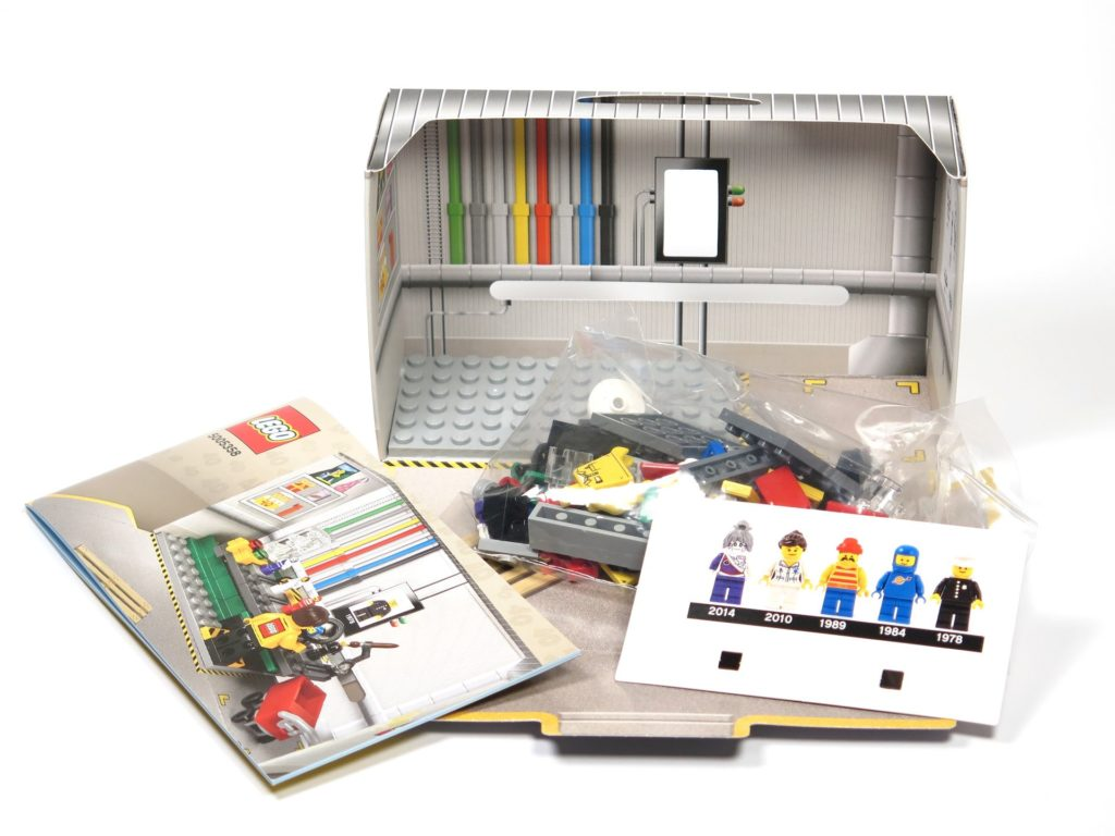 ®LEGO Minifigurenfabrik (5005358) - Inhalt | ©2018 Brickzeit