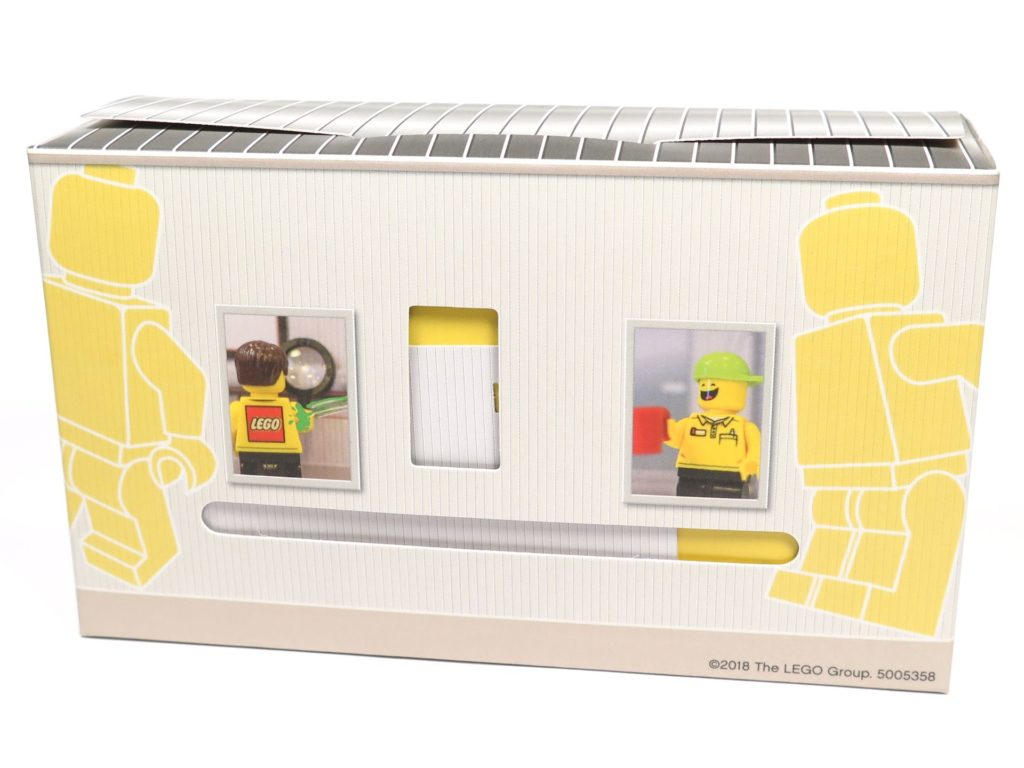 ®LEGO Minifigurenfabrik (5005358) - Karton Rückseite | ©2018 Brickzeit