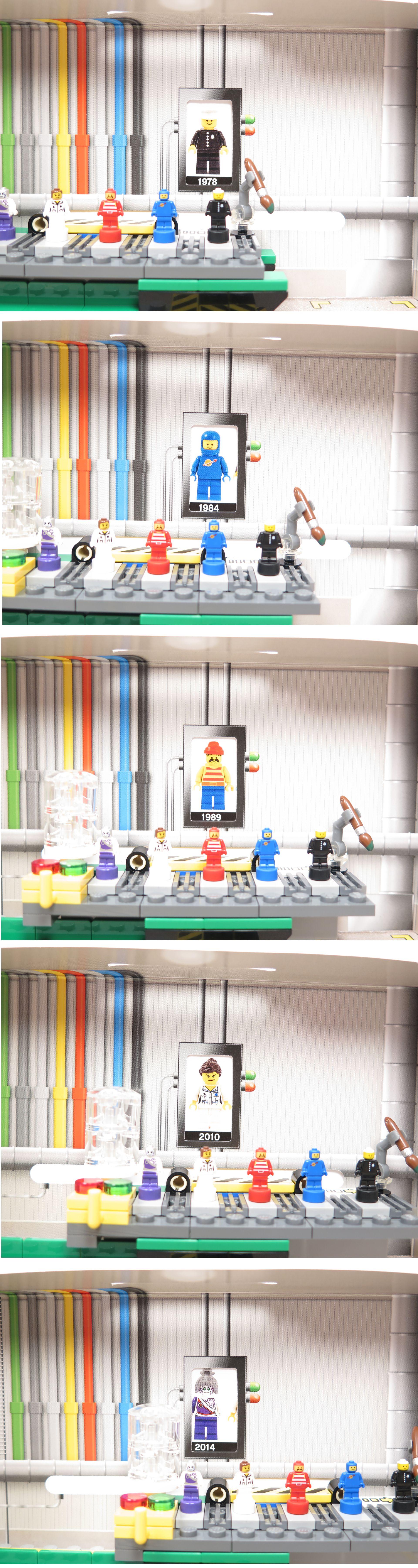 ®LEGO Minifigurenfabrik (5005358) - Bildwechsel bei Verschieben | ©2018 Brickzeit