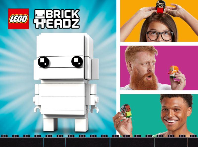 LEGO® Rebrick Wettbewerb - Your Brick Selfie - Titelbild | ©2018 LEGO Gruppe