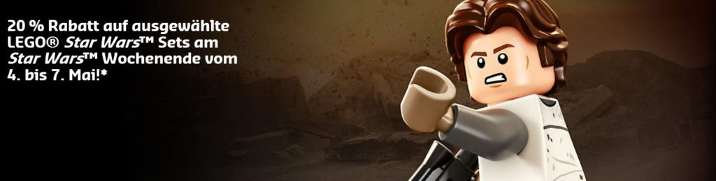 LEGO® Star Wars™ May4th 2018 - 20 Prozent Rabatt | ©LEGO Gruppe