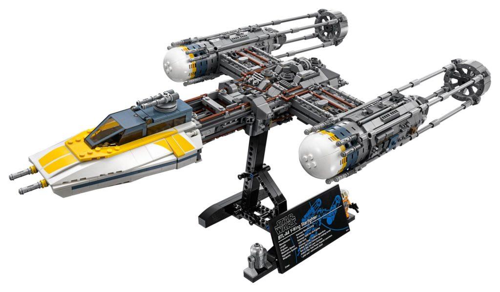 LEGO® Star Wars™ UCS Y-Wing Starfighter (75181) - Modellbild 1 | ©2018 LEGO Gruppe
