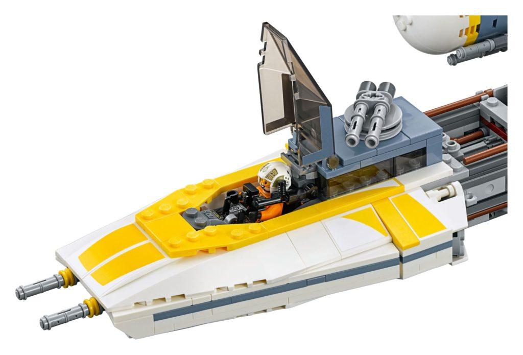 LEGO® Star Wars™ UCS Y-Wing Starfighter (75181) - Modellbild 2 | ©2018 LEGO Gruppe