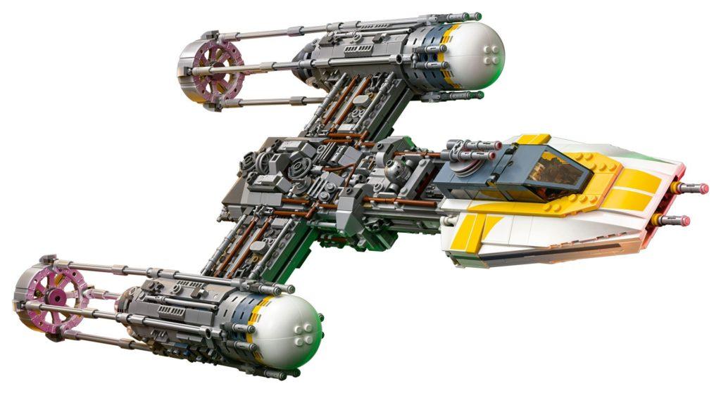 LEGO® Star Wars™ UCS Y-Wing Starfighter (75181) - Modellbild 3 | ©2018 LEGO Gruppe