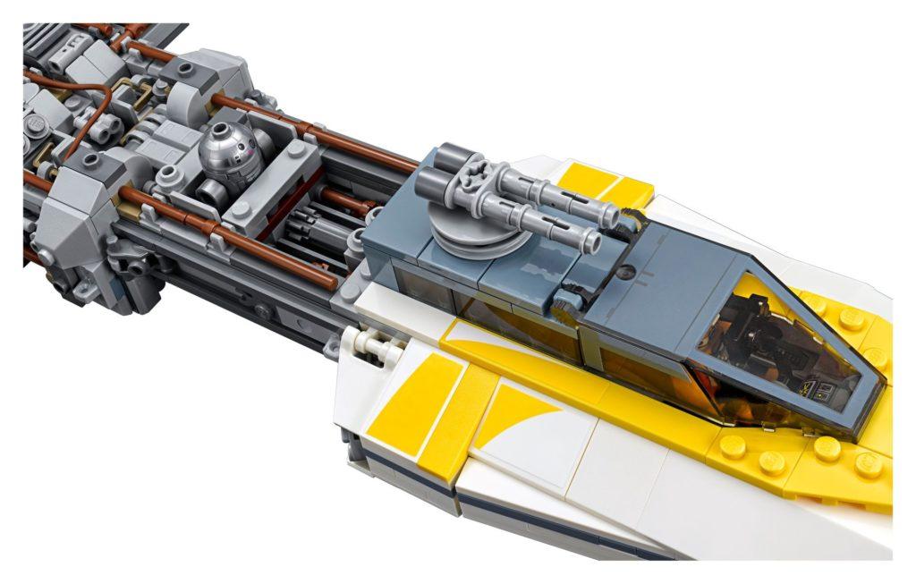 LEGO® Star Wars™ UCS Y-Wing Starfighter (75181) - Modellbild 4   ©2018 LEGO Gruppe