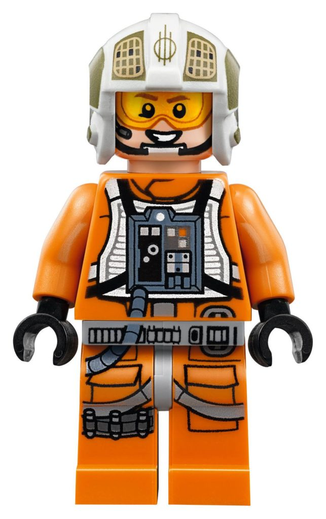 LEGO® Star Wars™ UCS Y-Wing Starfighter (75181) - Gold Leader Minifigur   ©2018 LEGO Gruppe