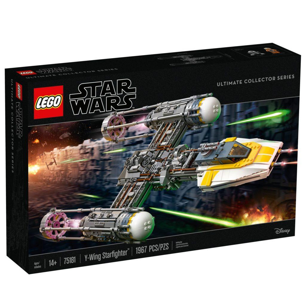 LEGO® Star Wars™ UCS Y-Wing Starfighter (75181) - Packung Vorderseite   ©2018 LEGO Gruppe
