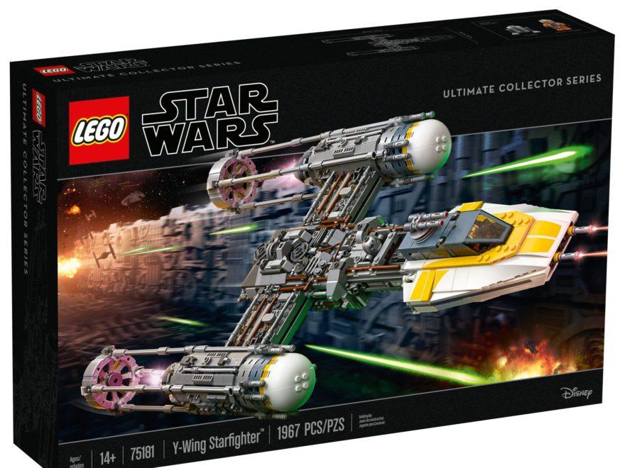 LEGO® Star Wars™ UCS Y-Wing Starfighter (75181) - Packung Vorderseite | ©2018 LEGO Gruppe