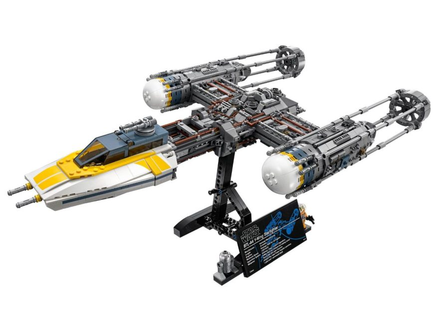 LEGO® Star Wars™ UCS Y-Wing Starfighter (75181) - Titelbild | ©2018 LEGO Gruppe