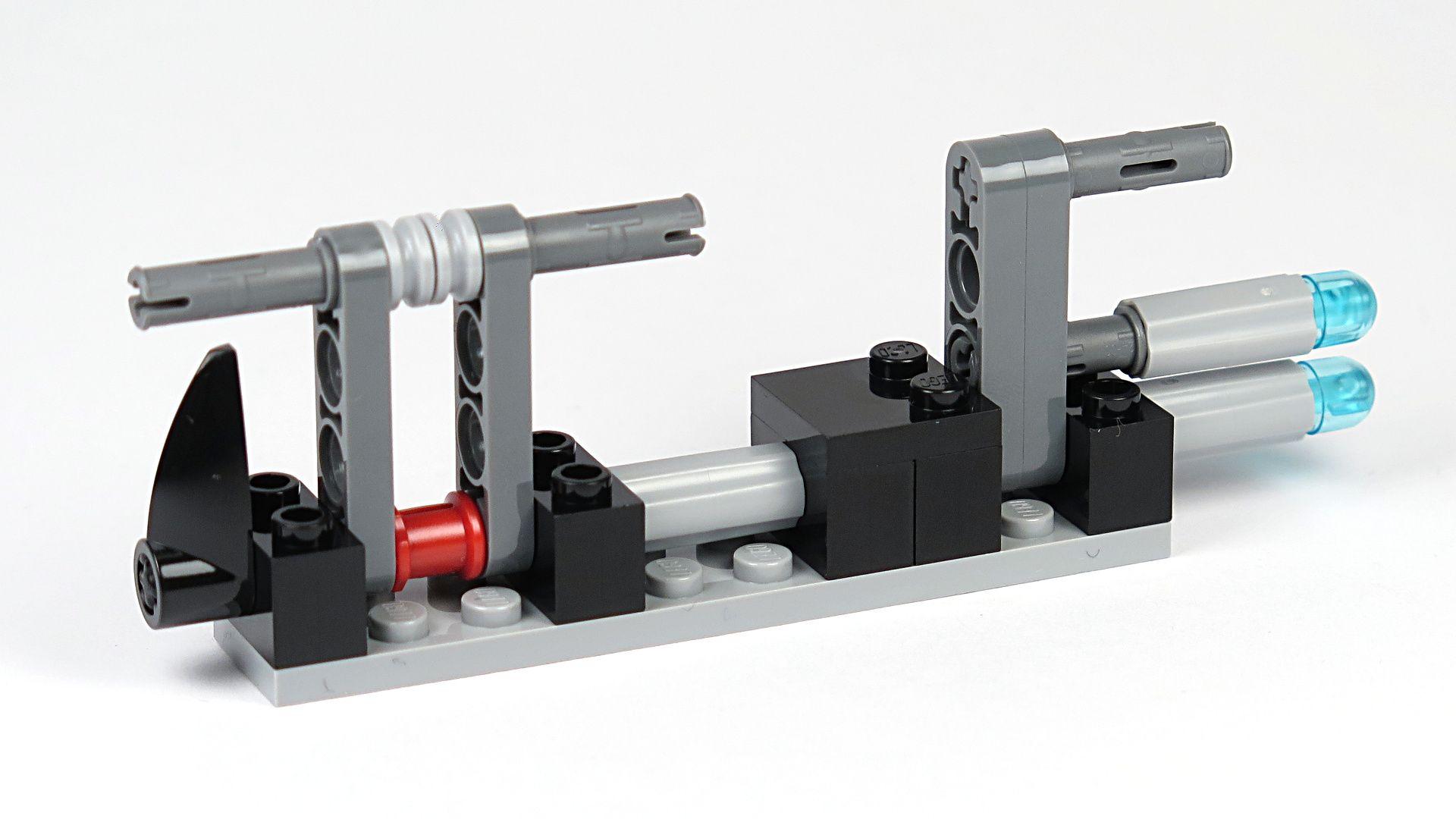 LEGO® Star Wars™ Imperial Patrol Battle Pack (75207) - Speeder-Gerüst | ©2018 Brickzeit