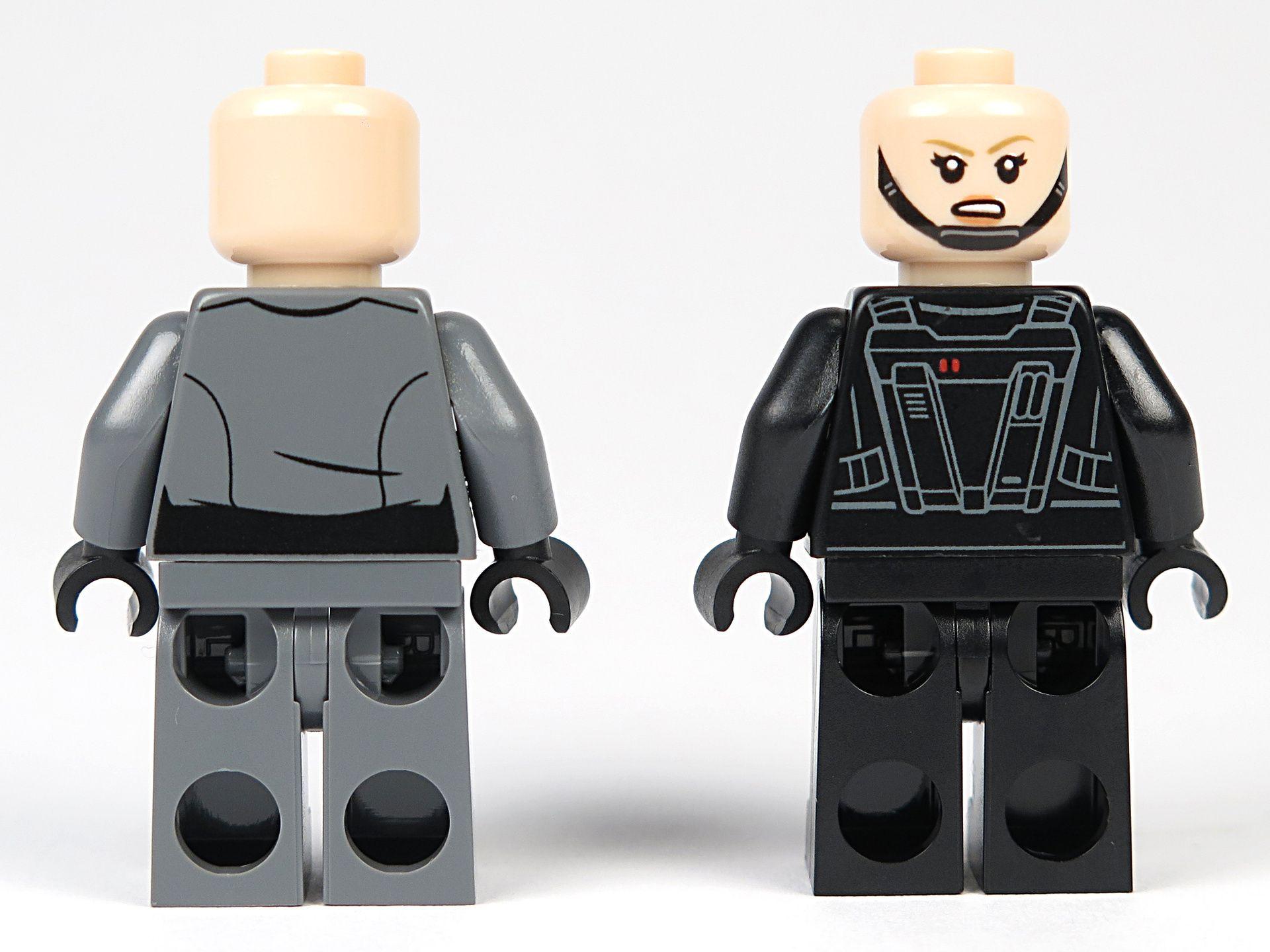 LEGO® Star Wars™ Imperial Patrol Battle Pack (75207) - Imperial Recruitment Officer und Emigration Officer - Rückseite   ©2018 Brickzeit