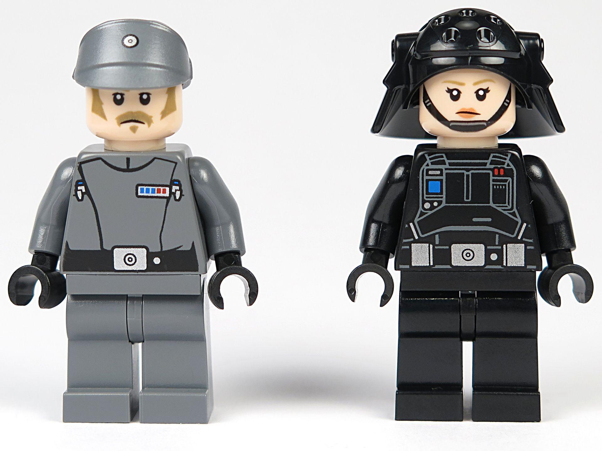 LEGO® Star Wars™ Imperial Patrol Battle Pack (75207) - Imperial Recruitment Officer und Emigration Officer - Vorderseite | ©2018 Brickzeit
