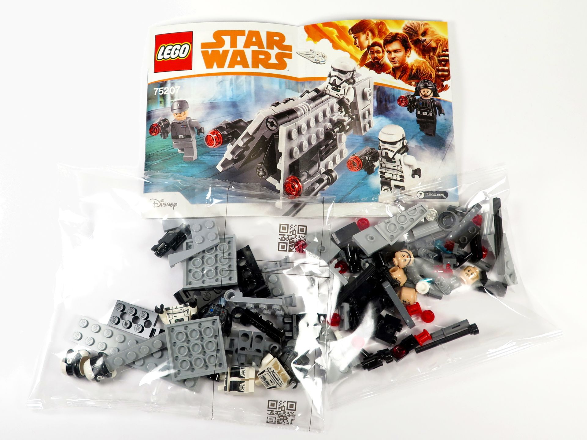 LEGO® Star Wars™ Imperial Patrol Battle Pack (75207) - Inhalt | ©2018 Brickzeit