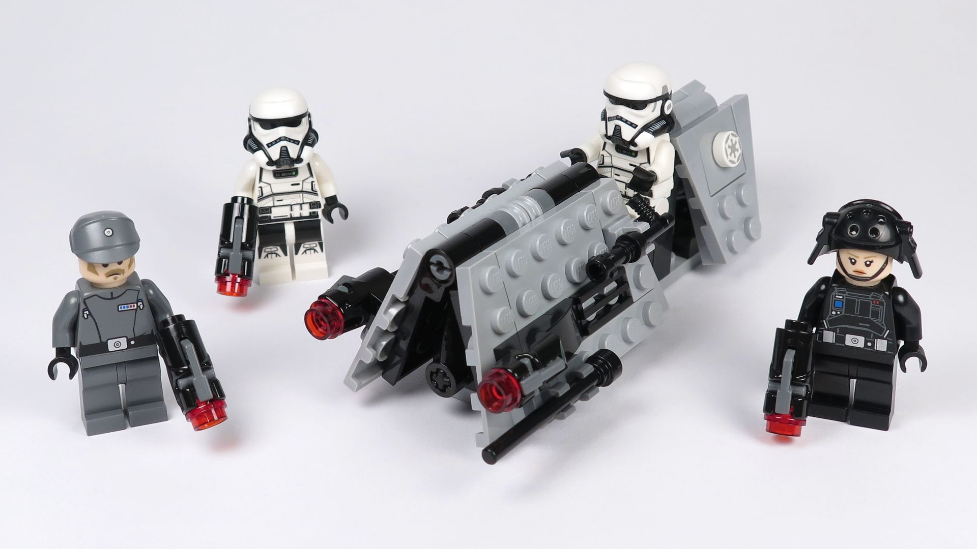 LEGO® Star Wars™ Imperial Patrol Battle Pack (75207) - Set | ©2018 Brickzeit