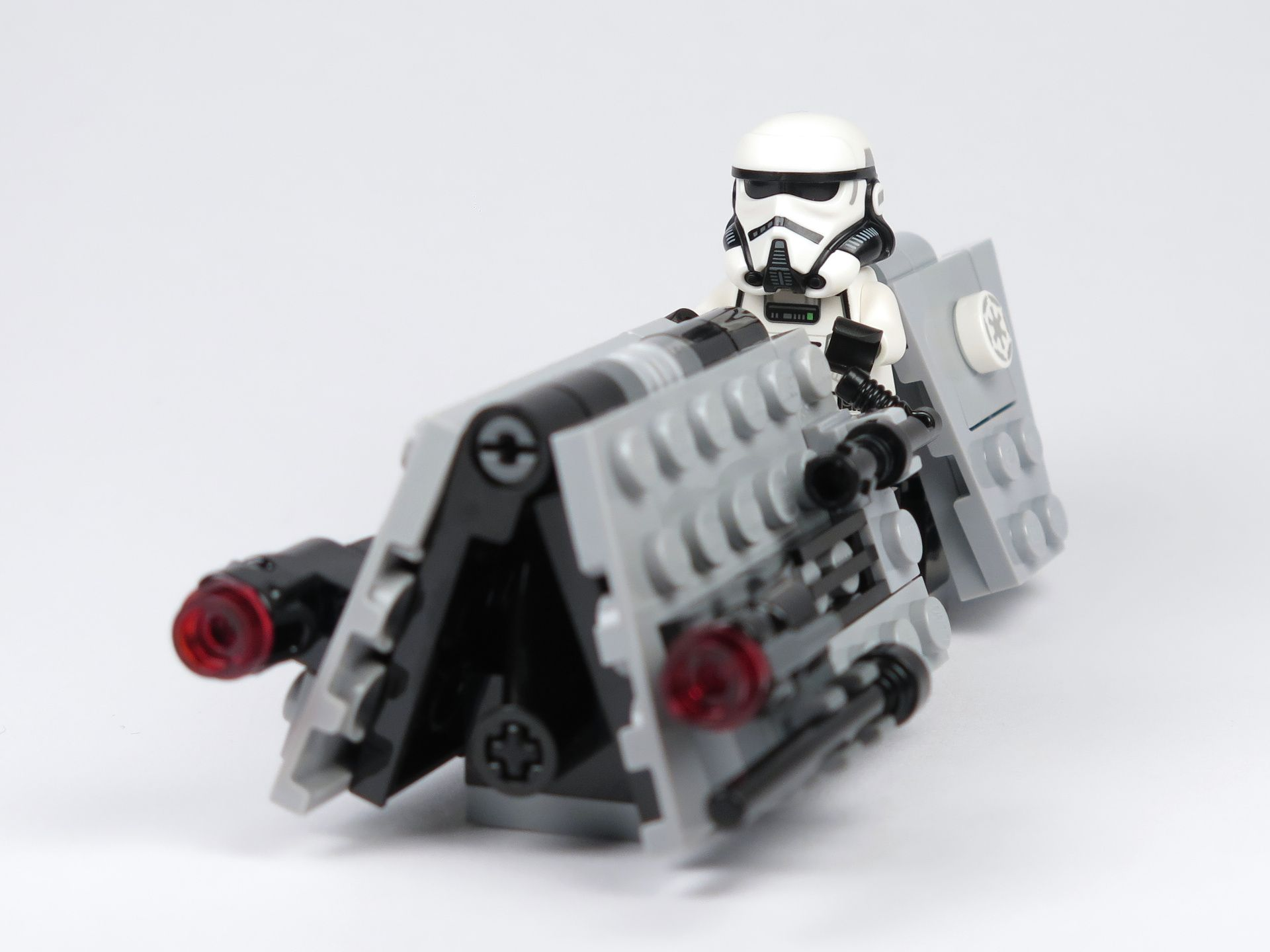 LEGO® Star Wars™ Imperial Patrol Battle Pack (75207) - Speeder mit Patrol Tooper | ©2018 Brickzeit