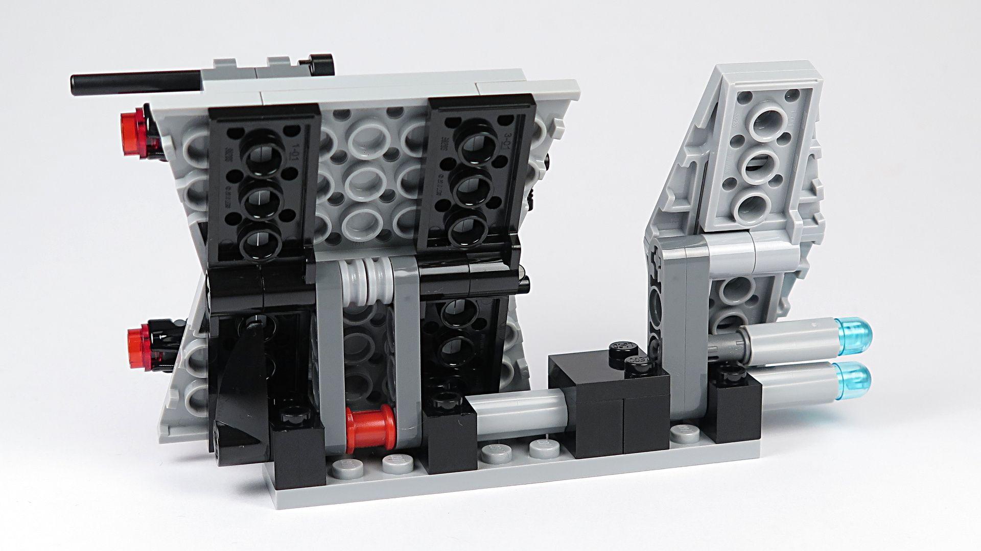 LEGO® Star Wars™ Imperial Patrol Battle Pack (75207) - Speeder offen | ©2018 Brickzeit