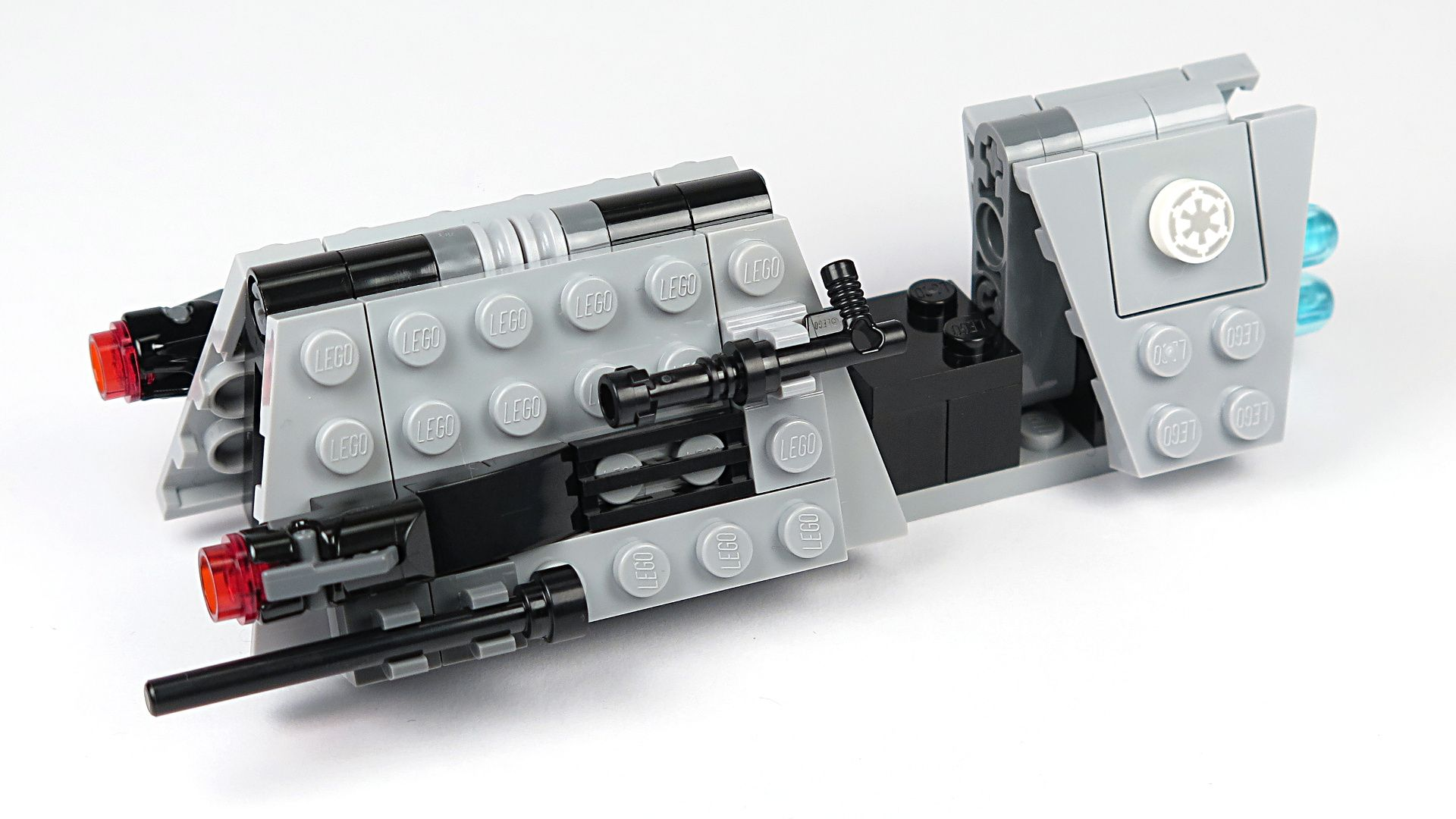 LEGO® Star Wars™ Imperial Patrol Battle Pack (75207) - Speeder vorne, links | ©2018 Brickzeit