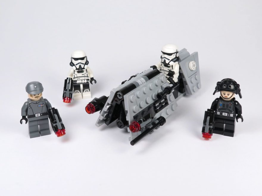 LEGO® Star Wars™ Imperial Patrol Battle Pack (75207) - Titelbild | ©2018 Brickzeit