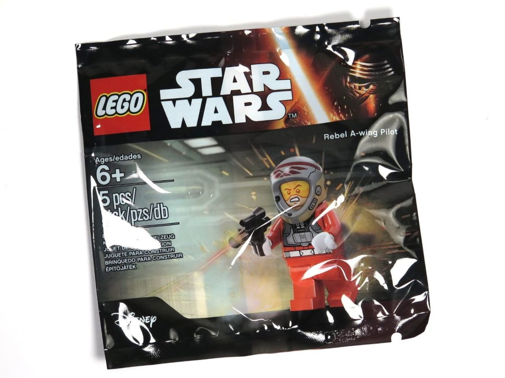 LEGO® Star Wars™ A-Wing Pilot Polybag | ©2018 Brickzeit