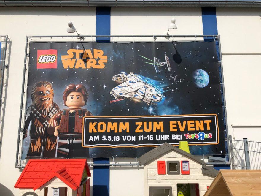 """LEGO Star Wars Aktion bei Toys""""R""""Us am 5. Mai 2018"""