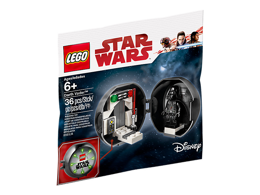 LEGO® Star Wars™ Darth Vader Pod - Polybag | ©2018 LEGO Gruppe