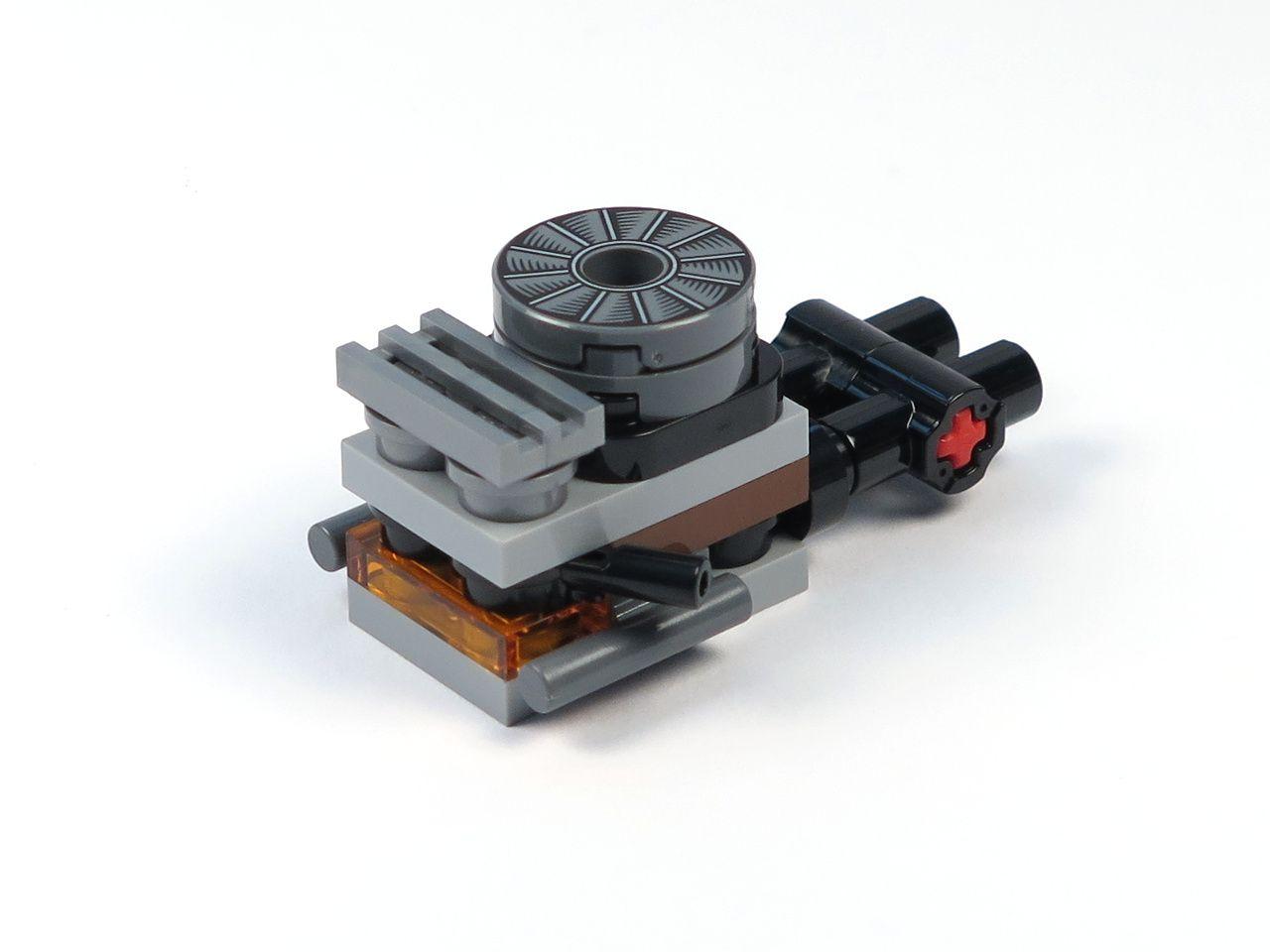 LEGO® Star Wars™ Han Solo's Landspeeder™ (75209) - Motor 1 | ©2018 Brickzeit