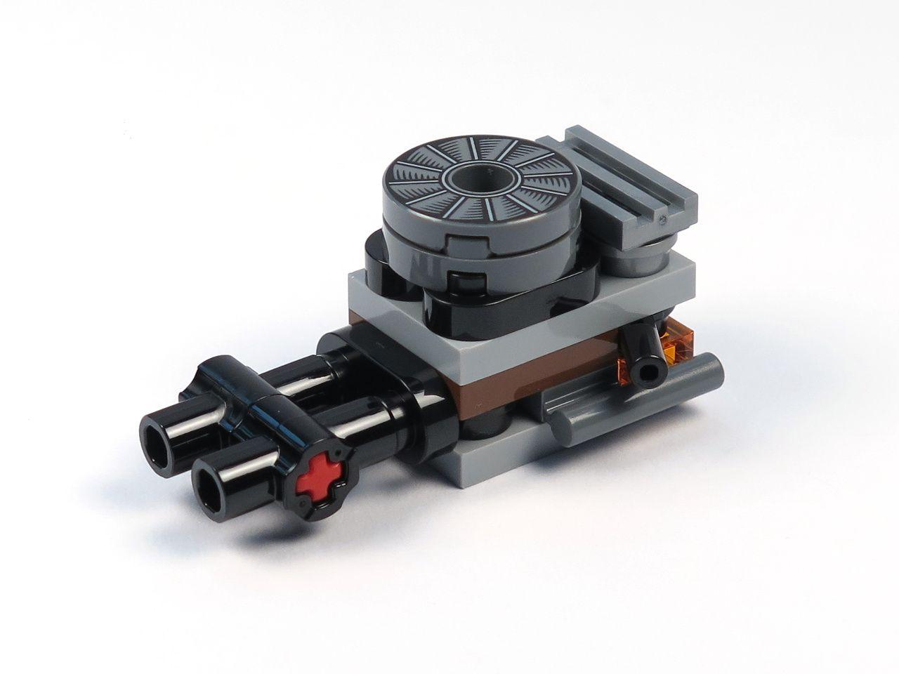 LEGO® Star Wars™ Han Solo's Landspeeder™ (75209) - Motor | ©2018 Brickzeit