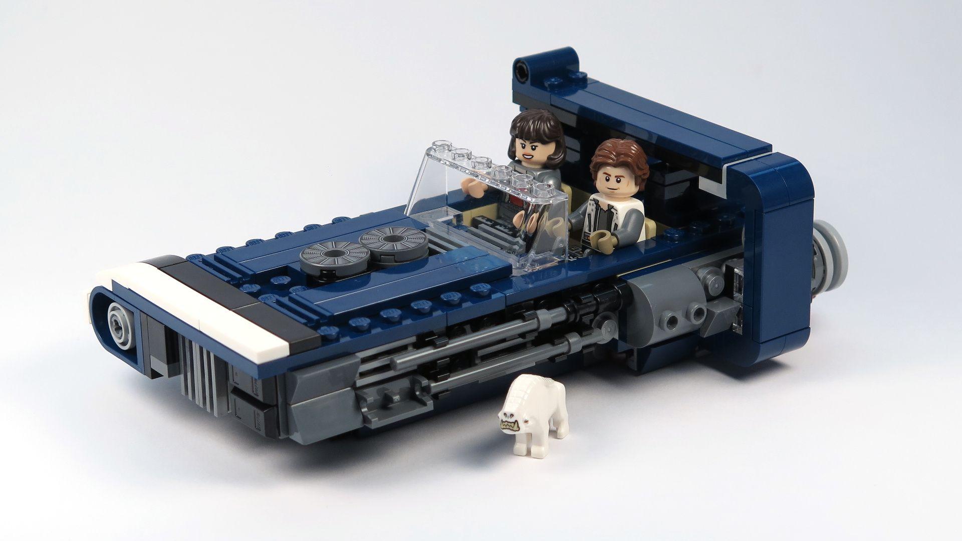 LEGO® Star Wars™ Han Solo's Landspeeder™ (75209) - Set | ©2018 Brickzeit