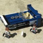 LEGO® Star Wars™ Han Solo's Landspeeder™ (75209) - Titelbild | ©2018 Brickzeit