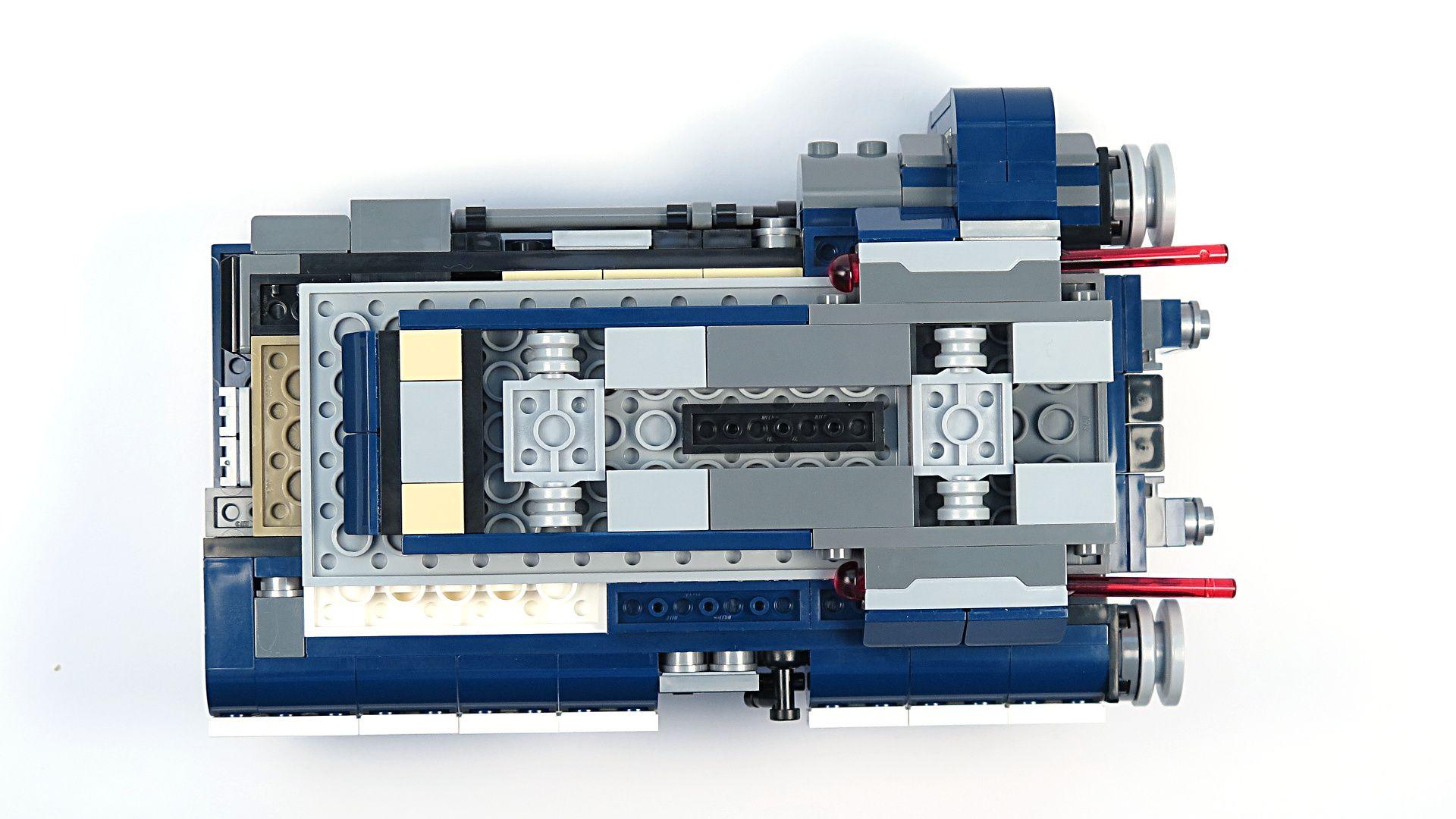 LEGO® Star Wars™ Han Solo's Landspeeder™ (75209) - Unterseite | ©2018 Brickzeit