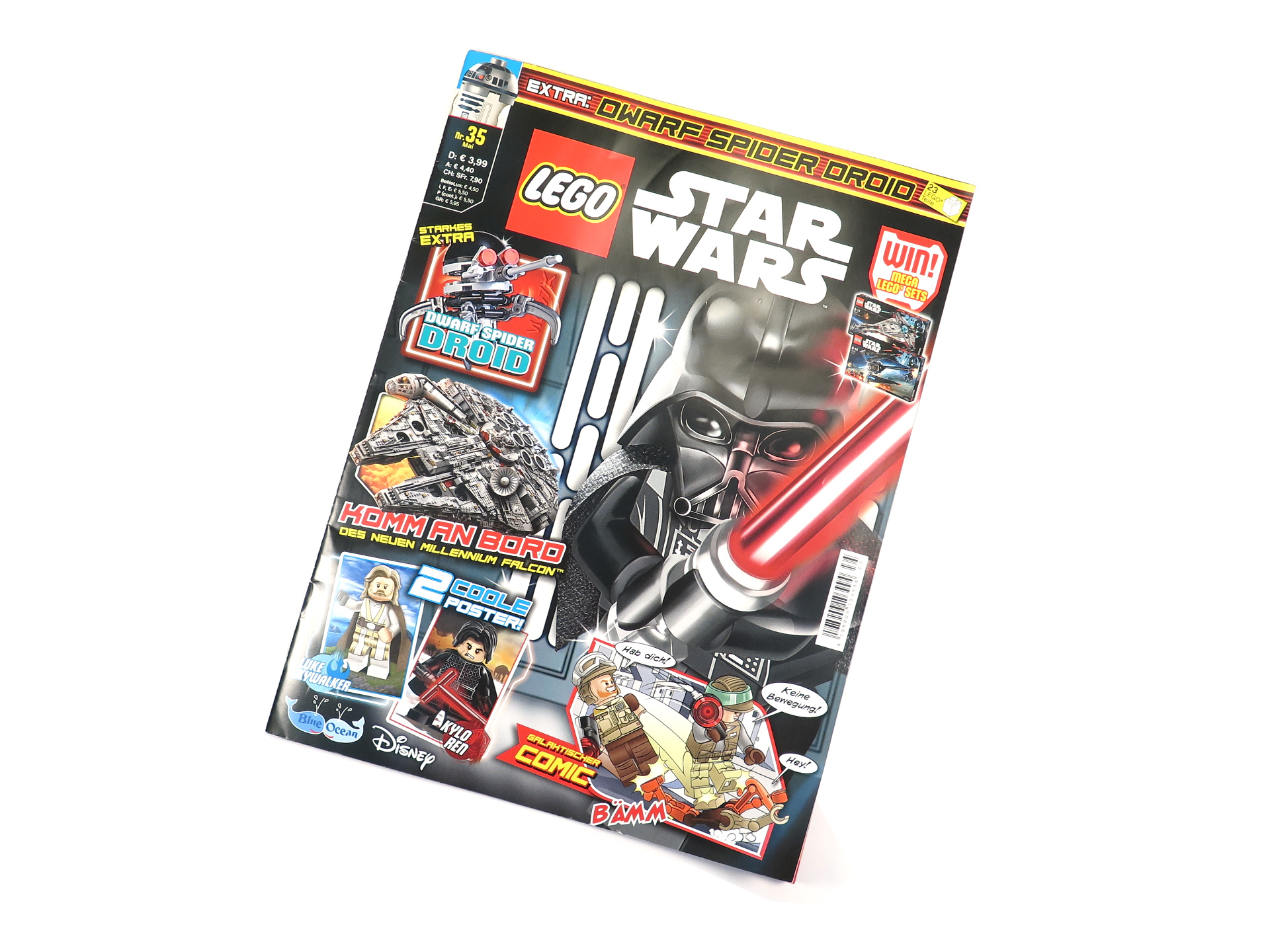 LEGO® Star Wars™ Magazin Nr. 35 | ®2018 Brickzeit