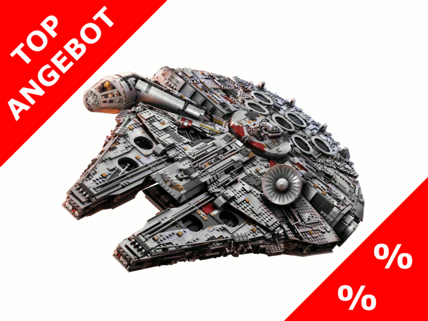 Top-Angebot - LEGO Star Wars UCS Millennium Falcon (75192) bei ToysRUs - May4th 2018
