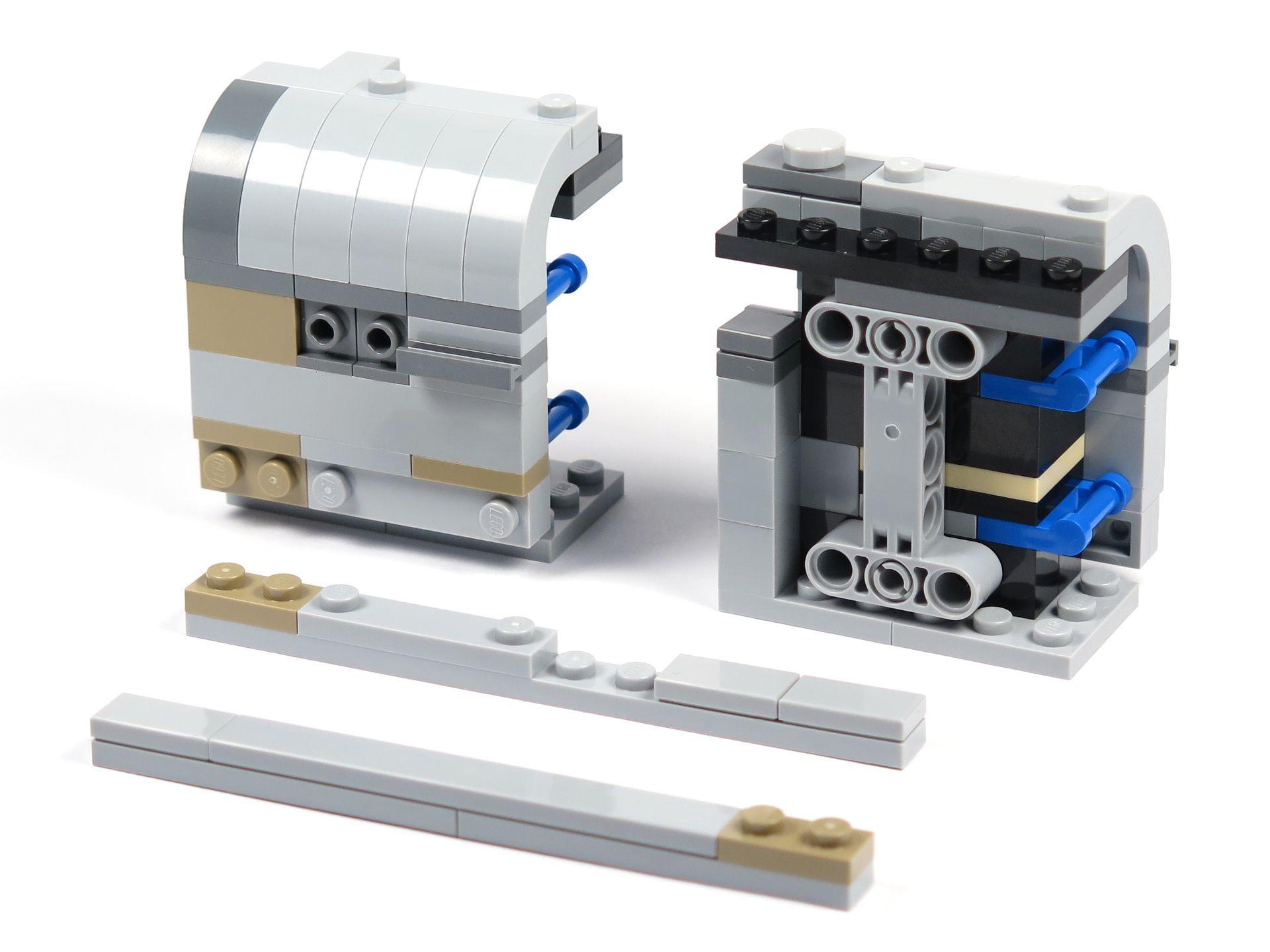 LEGO® Star Wars™ Moloch's Landspeeder™ (75210) - Bauabschnitt 2 - Baugruppen | ©2018 Brickzeit