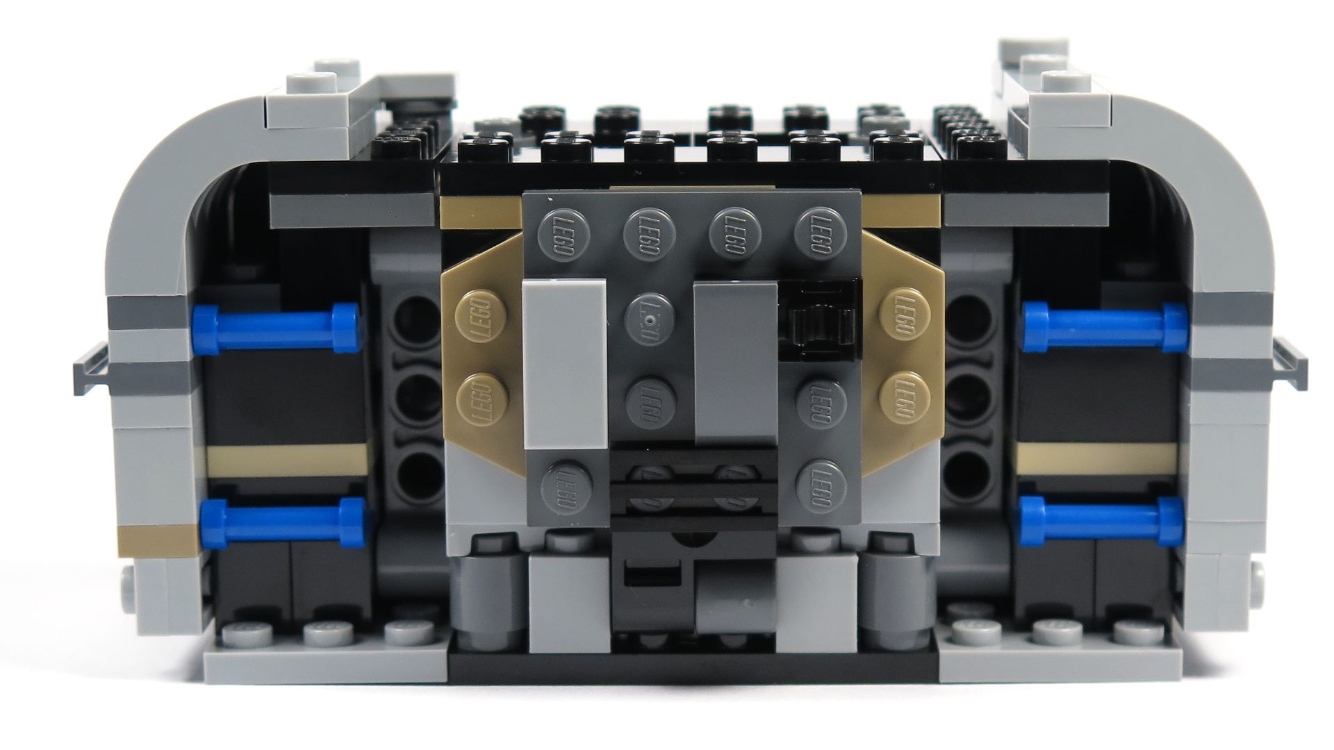 LEGO® Star Wars™ Moloch's Landspeeder™ (75210) - Bauabschnitt 2 - hinten | ©2018 Brickzeit