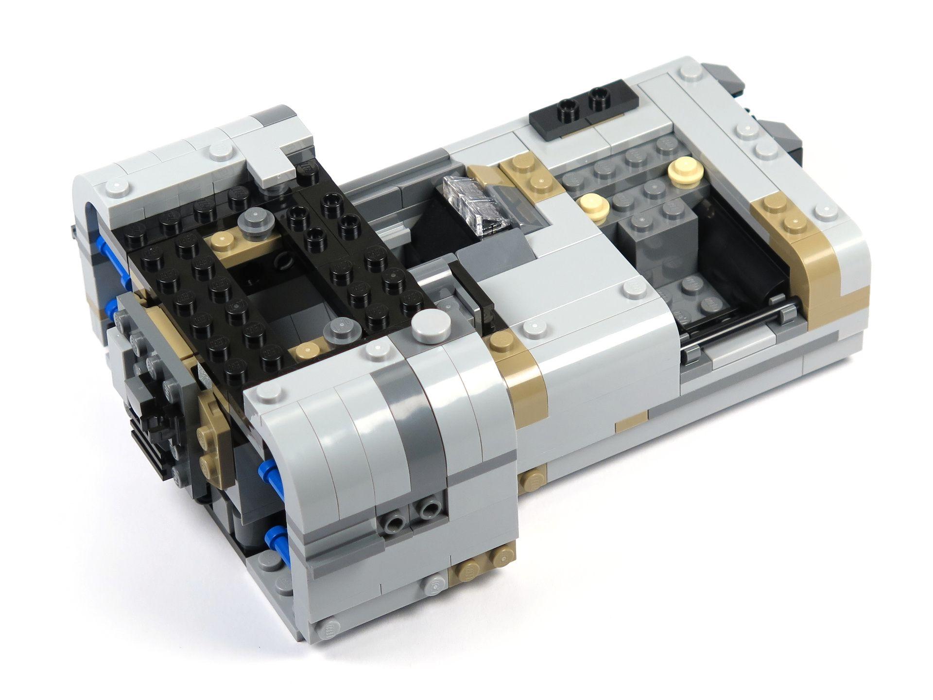 LEGO® Star Wars™ Moloch's Landspeeder™ (75210) - Bauabschnitt 3 - rechte Seite | ©2018 Brickzeit