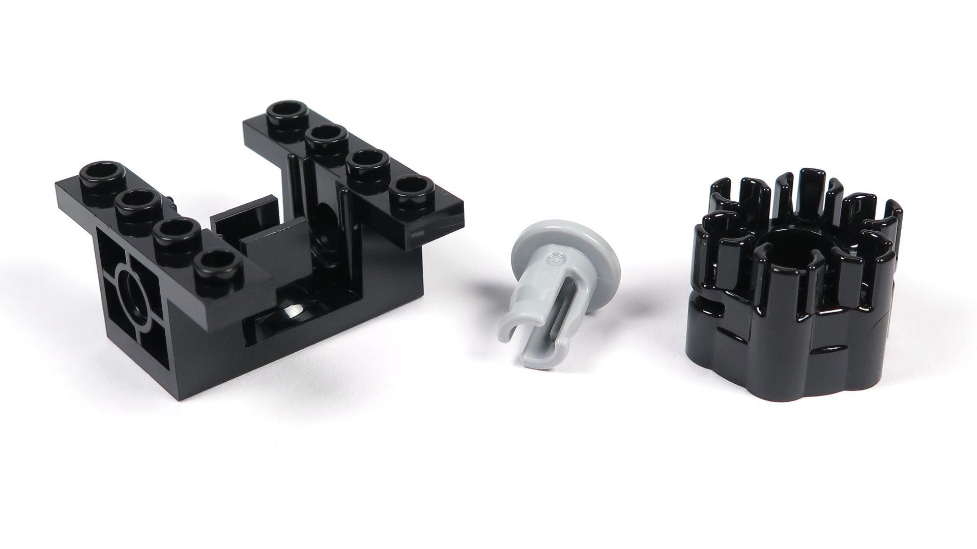 LEGO® Star Wars™ Moloch's Landspeeder™ (75210) - Bauabschnitt 3 - Spezialteile | ©2018 Brickzeit