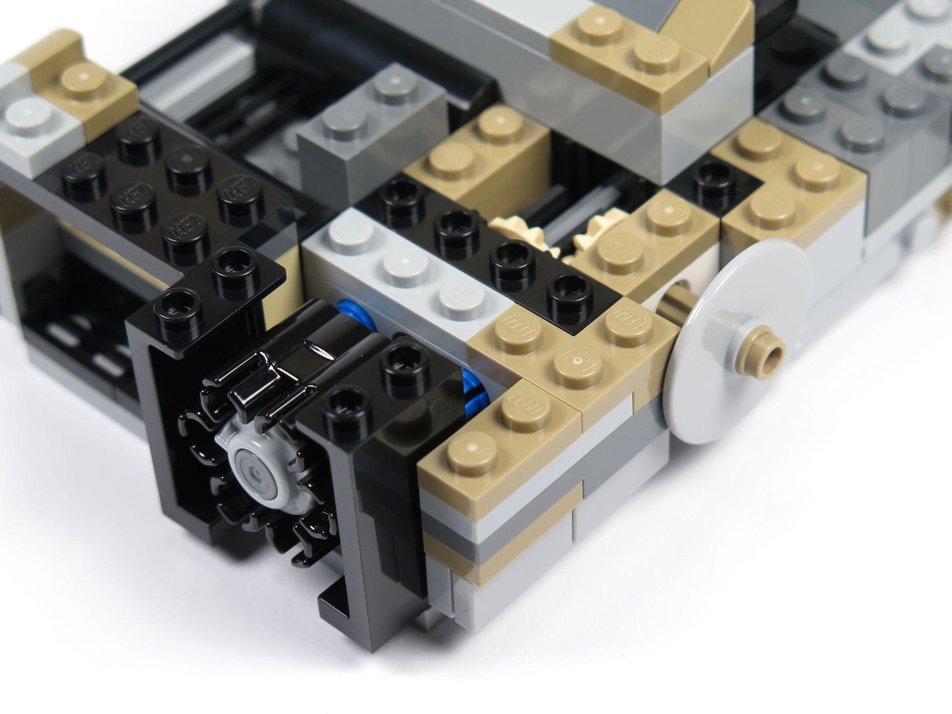 LEGO® Star Wars™ Moloch's Landspeeder™ (75210) - Bauabschnitt 3 - Trommel und Mechanismus | ©2018 Brickzeit