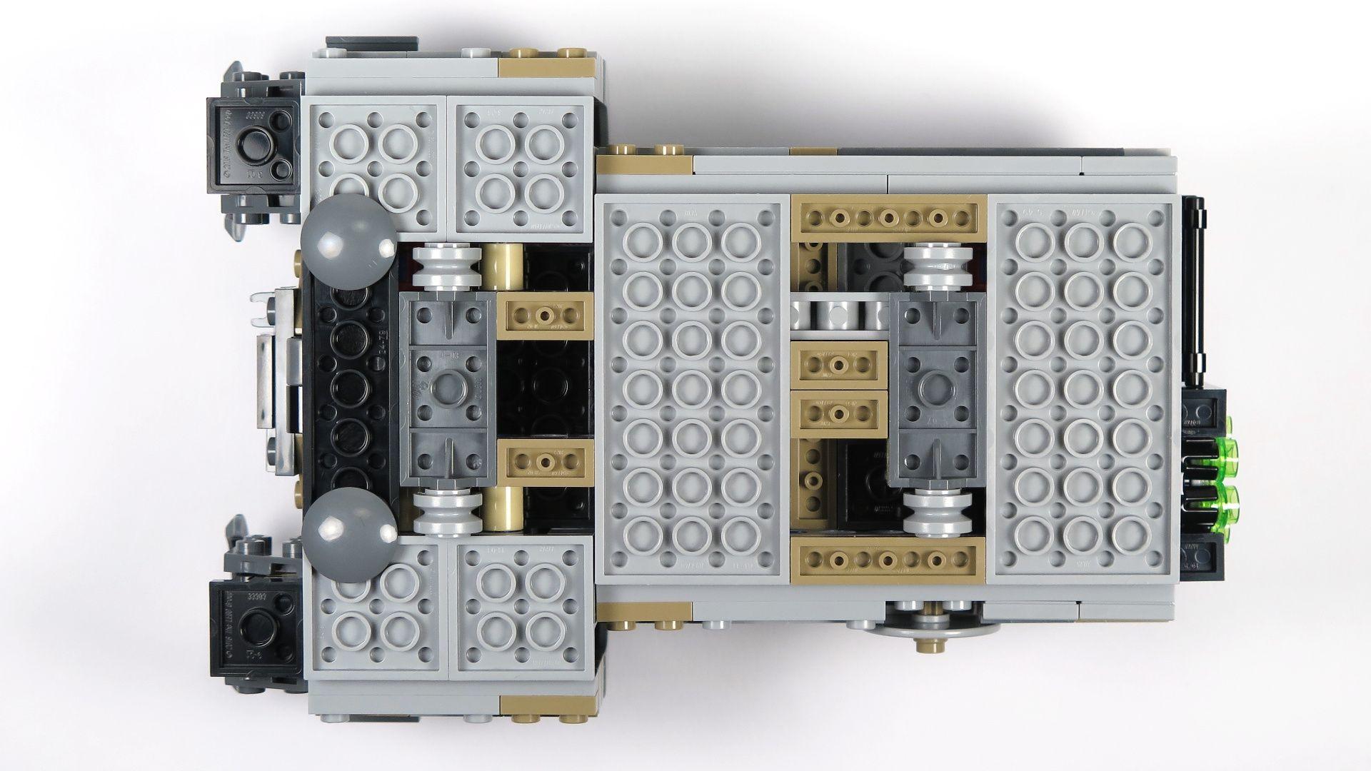 LEGO® Star Wars™ Moloch's Landspeeder™ (75210) - Räder | ©2018 Brickzeit