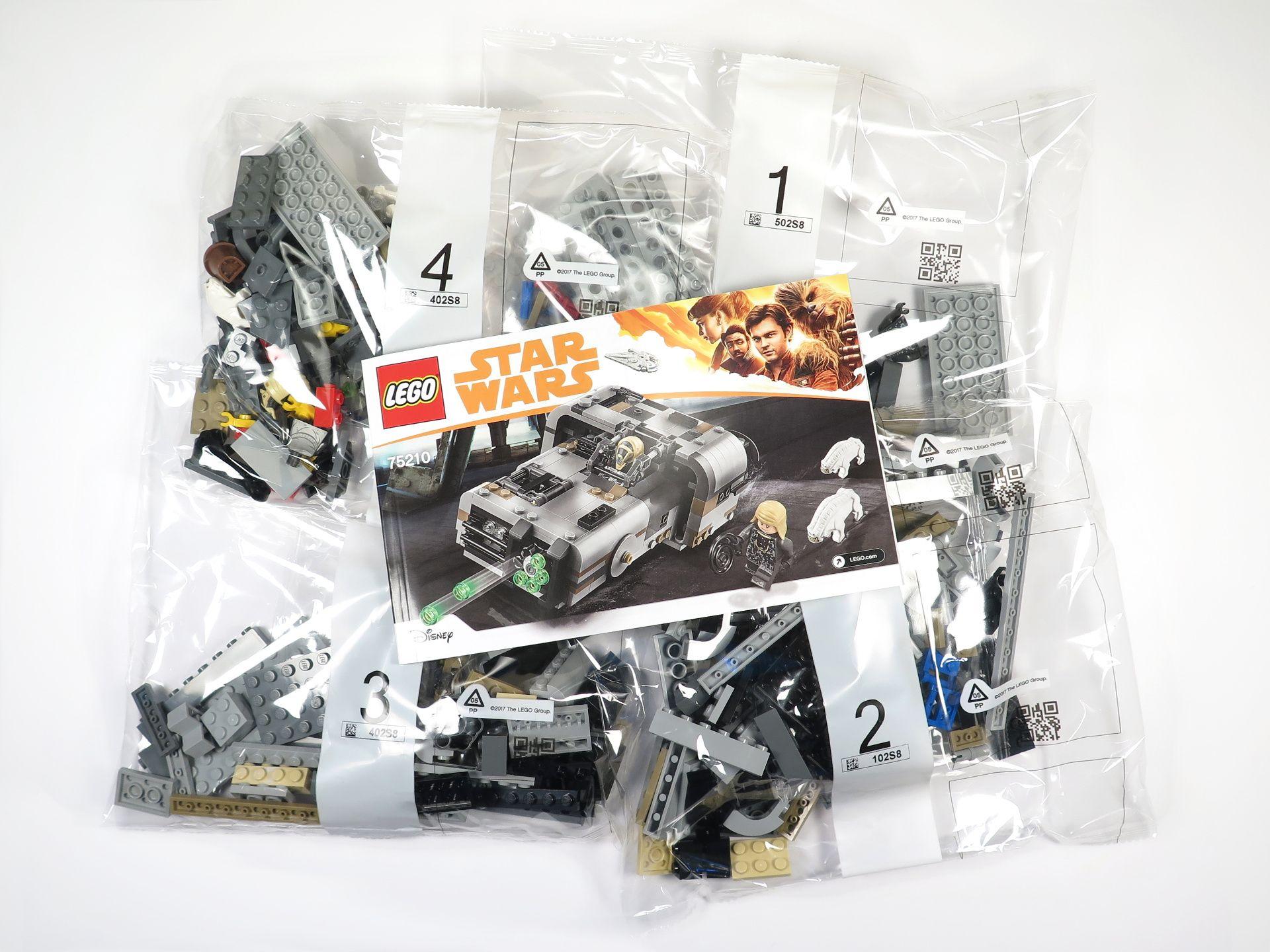 LEGO® Star Wars™ Moloch's Landspeeder™ (75210) - Inhalt | ©2018 Brickzeit