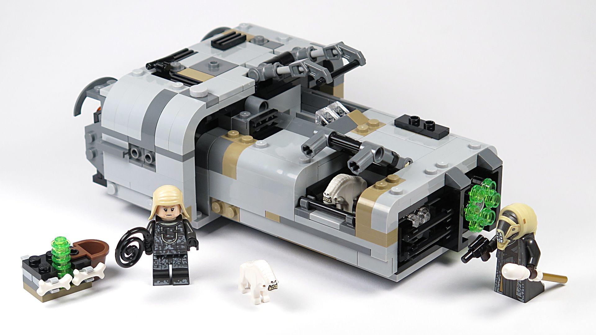 LEGO® Star Wars™ Moloch's Landspeeder™ (75210) - Set | ©2018 Brickzeit