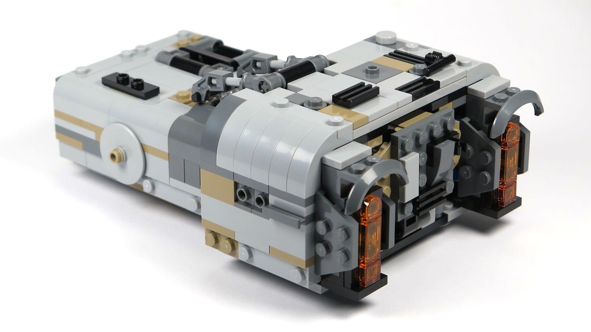 LEGO® Star Wars™ Moloch's Landspeeder™ (75210) - hinten Links | ©2018 Brickzeit