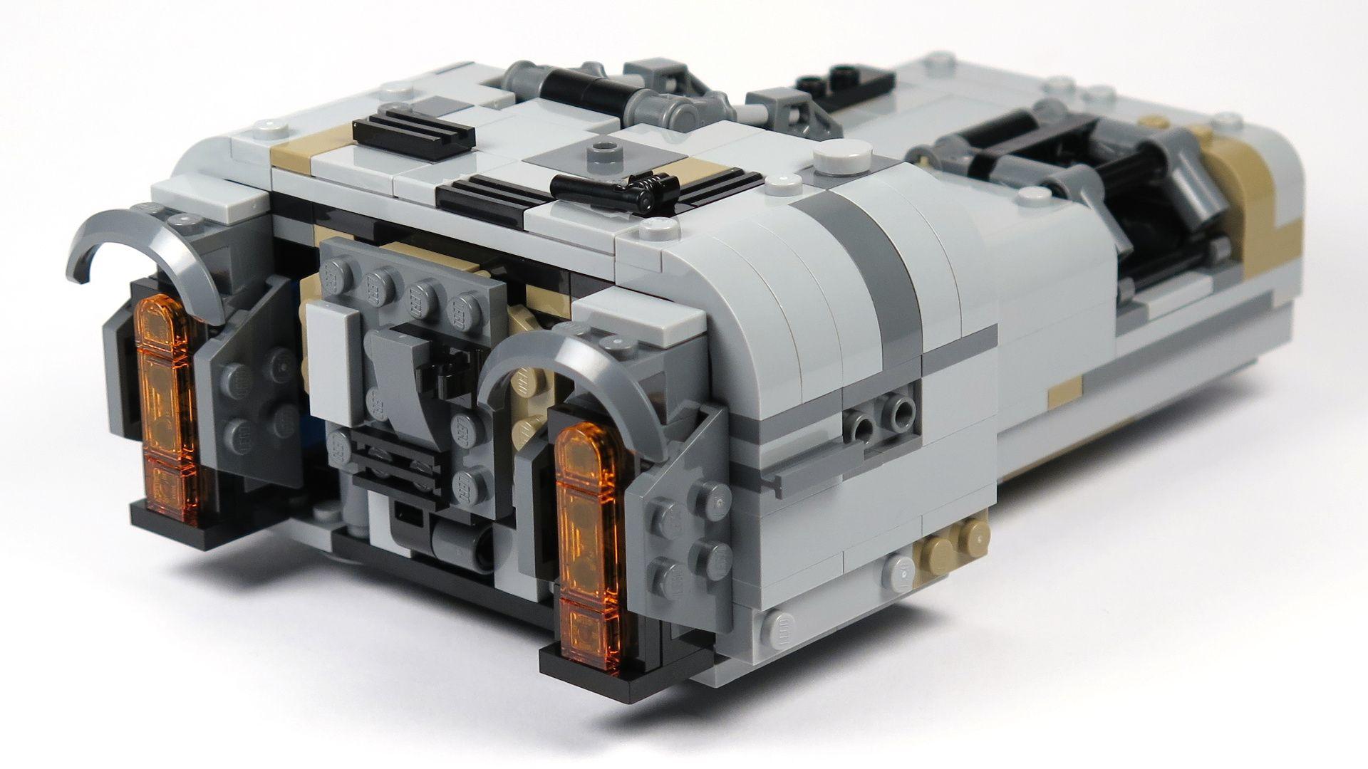 LEGO® Star Wars™ Moloch's Landspeeder™ (75210) - hinten Rechts | ©2018 Brickzeit